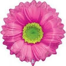 XL BRIGHT BLOOMS HOT PINK FLOWER BALLOON