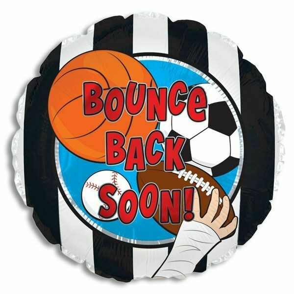 BOUNCE BACK SOON SPORTS BALLOON