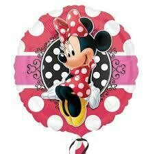 17 - MINNIE MOUSE PORTRAIT WITH POLKA DOTS