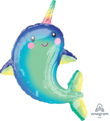 39 - HAPPY NARWHAL SHAPE