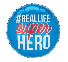 17 - # REAL LIFE SUPERHERO BLUE