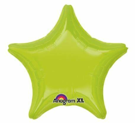 18 - METALLIC SOLID STAR KIWI