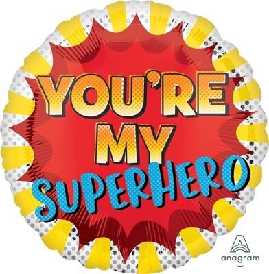 17 - YOU'RE MY SUPERHERO