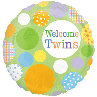 18 - WELCOME TWINS DOTS