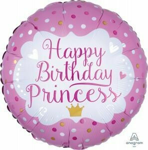 18 - BIRTHDAY PRINCESS DOTS