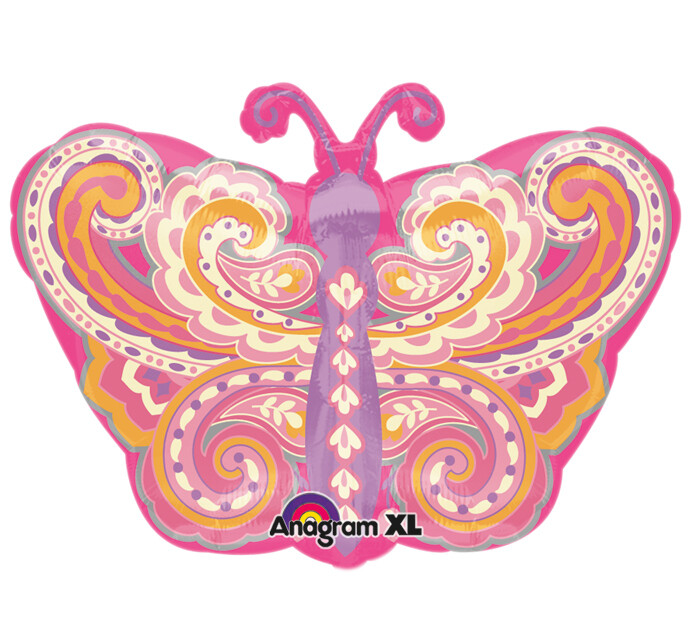 22 - JUNIOR PAISLEY BUTTERFLY