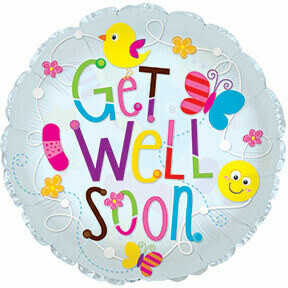 24 - GET WELL BIRDS AND FLOWERS
