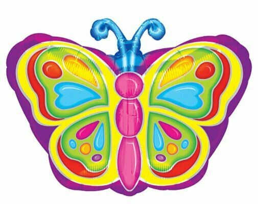 18 - SMALL RAINBOW BUTTERFLY