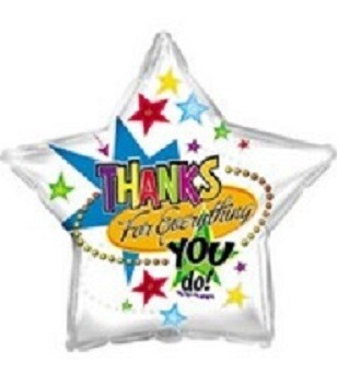 18 - STAR THANKS FOR EVERYTHING YOU DO