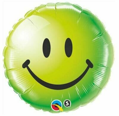 18 - GREEN SMILEY FACE