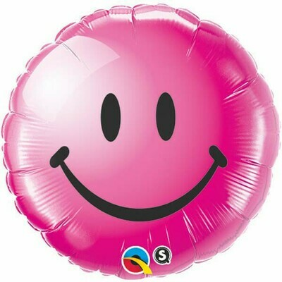 18 - PINK SMILEY FACE