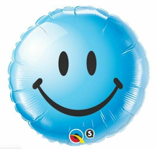18 - BLUE SMILEY FACE