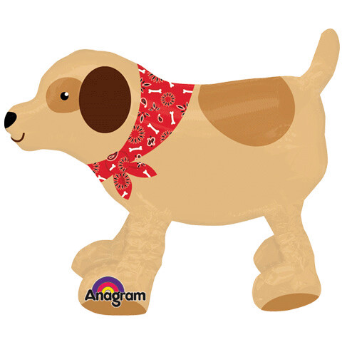 22 - DOG WITH BANDANA AIR WALKER