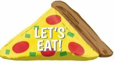 45 - LET'S EAT SLICE OF PIZZA