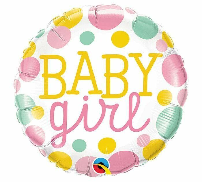 18 - BABY GIRL DOTS
