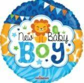 18 - BABY BOY JUNGLE GELLIBEAN BALLOON