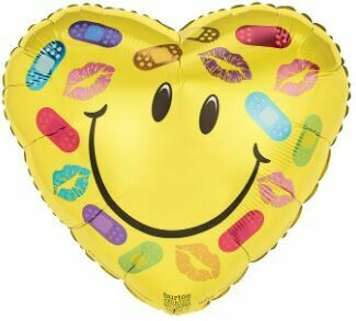 17 - BANDAGES AND KISSES SMILEY FACE