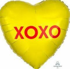 17 - XOXO CANDY HEART