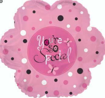 YOU'RE SO SPECIAL PINK FLOWER BALLOON