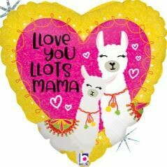 18 - LOVE YOU MAMA LLAMA HEART