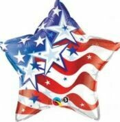 20 - RED WHITE AND BLUE STAR