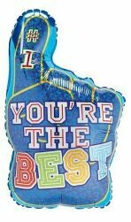18 - YOU'RE THE BEST FINGER BALLOON