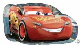 30 - LIGHTENING MCQUEEN SHAPE