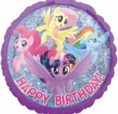 18 - MY LITTLE PONY HAPPY BIRTHDAY BALLOON