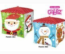 CUBEZ CHRISTMAS CHARACTERS