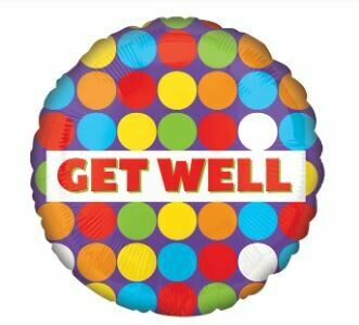 18 - GET WELL COLORFUL DOTS