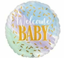 17 - WATERCOLOR WELCOME BABY