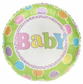 PASTEL DOTS BABY BALLOON