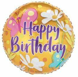 18 - HAPPY BIRTHDAY DAISY AND BUTTERFLY