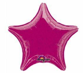 17 - DAZZLER STAR SOLID FUSCHIA