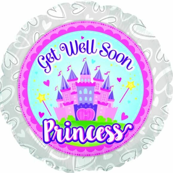 17  -  GET WELL SOON PRINCESS