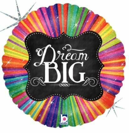 18 - DREAM BIG CHALK BOARD AND COLOR BURST