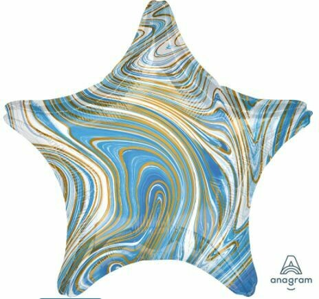 18 - MARBLE STAR BLUE