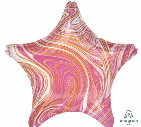 18 - MARBLE STAR PINK