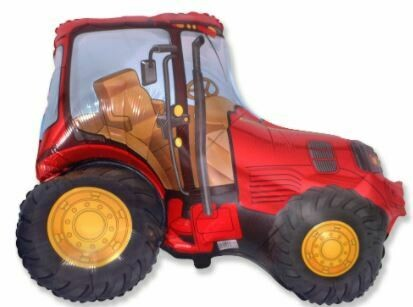 31 - RED FARM TRACTOR