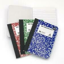 Mini Composition Book