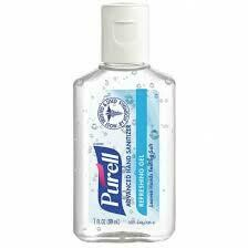 PURELL HAND SANITIZER 1 FL. OZ.