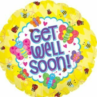 18 - GET WELL SOON HEARTS AND BUGS