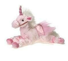 """10"""" LAYING UNICORN PINK OR PURPLE - ASSORTED"""