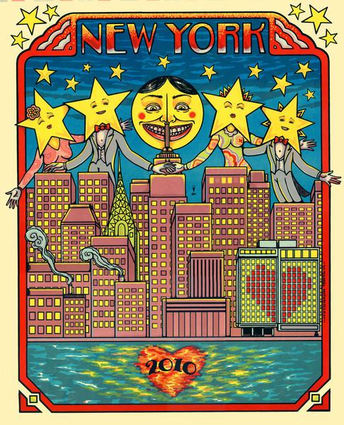 New York Art Print 10