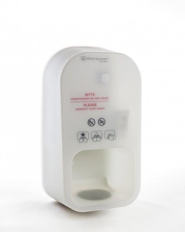 Steripower® - безконтактен дозатор за дезинфекция на ръце