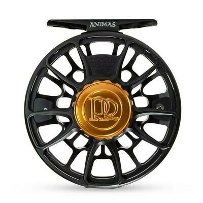 Ross Reels Animas 5/6 schwarz matt