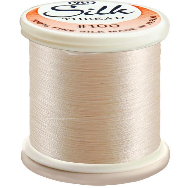 YLI Premium Bindeseide natural white 212 - 200m