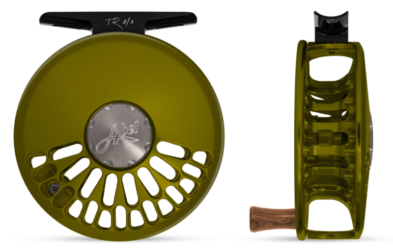 Abel TR 2/3 Fliegenrolle Olive