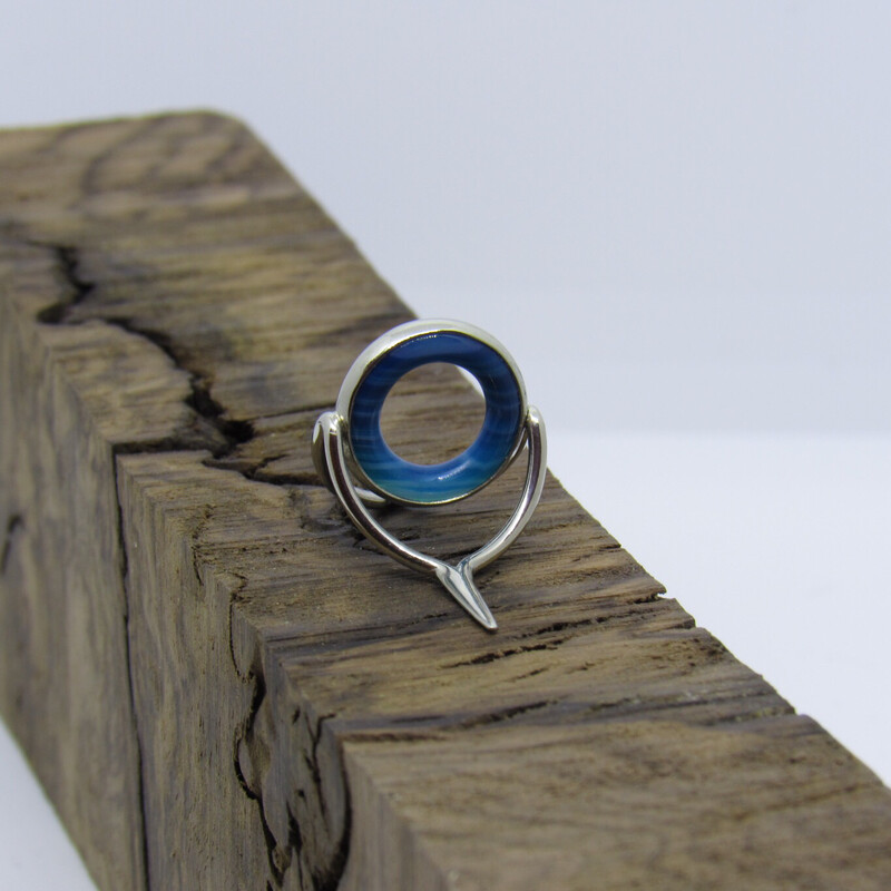 Agate Perfect Stripping Guide 12mm blue flat frame