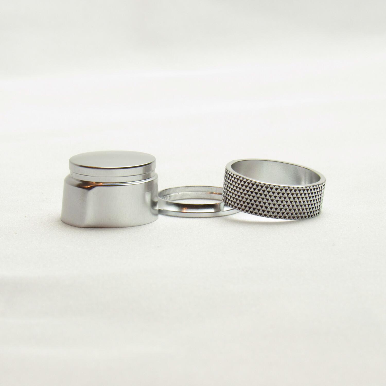 Garrison Style Fliegenruten Slide Band (Cap and Ring) Rollenhalter Hardware Set